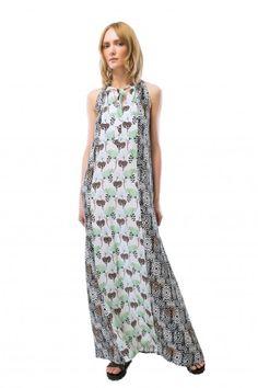 82c46ac6381 L Autre Chose maxi dress.  lautrechose  fashion  70s  trend  apparel   clothing  longdress  dress  spring  ss15