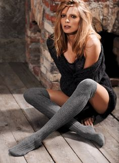 Fall Winter 2011-2012 catalog Calzedonia woman stockings, socks and tights