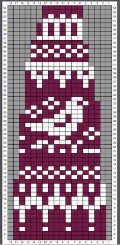 Knitting Stiches, Knitting Charts, Loom Knitting, Knitting Patterns Free, Free Pattern, Fair Isle Chart, Fair Isle Pattern, Knitted Tea Cosies, Nordic Sweater