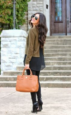 fall fashion, fall fashion 2013, leather leggings, zara leather booties, tory burch robinson, forever 21, h&m leather leggings, ray bans, em...