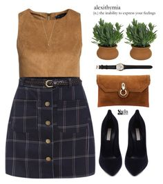 """Alexythmia"" by mihreta-m ❤ liked on Polyvore featuring mode, New Look, Casadei, Dot & Bo et Minor Obsessions"