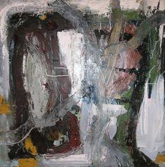 Acryl på lærred, 100 x 100 cm