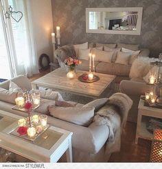 Wohnzimmer mit Ambiente