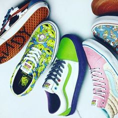 """145f8c9461c6 Vans Junkie on Instagram  """"The Toy Story x Vans collection utilising  Silhouettes like the Vans Old Skool and Sk8-Hi redesigned to feature  special colorways ..."""