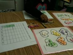 Sorting and Graphing candy hearts