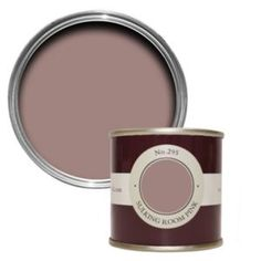 Test out your favourite Farrow & Ball colours at home – this sample pot covers up to per on average. Farrow And Ball Living Room, Living Room Paint, New Living Room, Living Room Decor, Dining Room, Farrow Ball, Pink Bedroom Decor, Pink Room, Shop Interiors