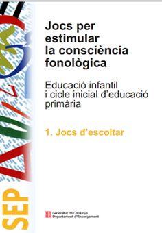 Des de la pàgina web volem presentar-vos un llibre per treballar la consciència fonologica a l'etapa d' Educació Infantil anom...