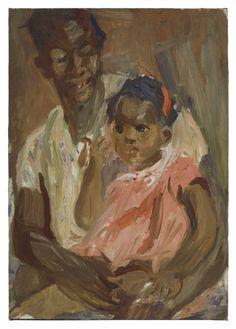 ArtArte Alice Neel (1900-1984) Mother and Child, 1926. David Zwirner Gallery.