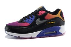 new products 3e1b8 7375f Men s Sneakers Nike Air Max 90 Black SD   Persian Violet   Pink Force   Cool