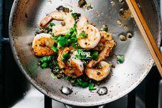 spicy salt and pepper shrimp |  www.iamafoodblog.com