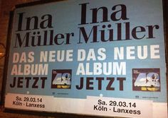 #Flächenplakatierung #Poster #Plakat Album Release und Konzert