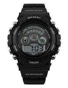 Herren-LCD-Digital-Sport-Uhr Mode-sportliche Stoppuhr , red - http://uhr.haus/yyf/herren-lcd-digital-sport-uhr-mode-sportliche-red