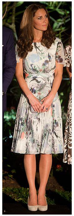 Duchess of Cambridge in Erdem #KateMiddleton #royal