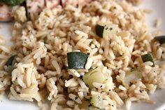 Zucchini Brown Rice