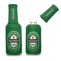 CLÉ USB KEY 4 GB Neuve Design Type Heineken Original Pour Cadeau | eBay