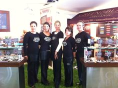 GREEN & BLACK'S team at the Food & Wine Classic in Aspen on 6.17.2011