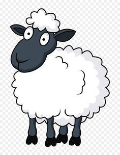 Baby Room Sheep, Sheep Cartoon, Cartoon Clip, Cartoon Drawings, Art Drawings, Sheep Drawing, Sheep Illustration, Sheep Cards, Eid Crafts