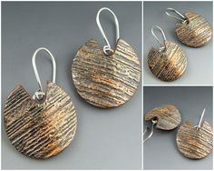 Betsy Baker of Stonehouse Studio - polymer clay with patina