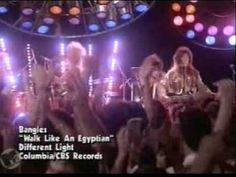 "Walk Like An Egyptian - The Bangles. Sidenote: I used to tell my dad that I wanted to be a ""Bangle"" when I grew up. That didn't pan out."