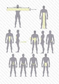 Fundoshi o Shitaobi Larp, Fundoshi, Clothing Patterns, Sewing Patterns, Egyptian Costume, Mode Masculine, Clothing Hacks, Traditional Outfits, Diy Clothes