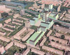 Centrum Delflandplein Amsterdam – Urbis, bureau voor stadsontwerp
