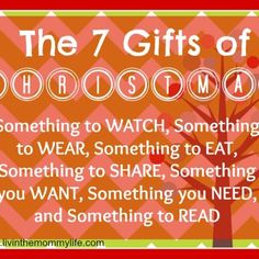 The 7 Gifts of Christmas