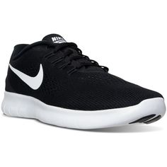 Nike Men's Free Rn Running Sneakers from Finish Line ($100) ❤ liked on Polyvore featuring men's fashion, men's shoes, shoes, men, nike, sneakers, nike mens shoes, mens lightweight running shoes, mens shoes and mens cross training shoes