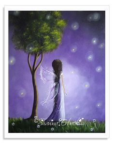 Fairy Art Prints by Shawna Erback - www.shawnaerback.com Pinterest fans can use code PINFAN in the shopping cart for 15% off any order! CLICK the pic for details!