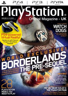 Official #PlayStation Magazine 96. Handsome Jack & co take a lunar excursion – and we've got all the exclusive info. The 28 PlayStation indie games you need to know about. Aiden's back, and he looks… different. We investigate the cause of his delay and more