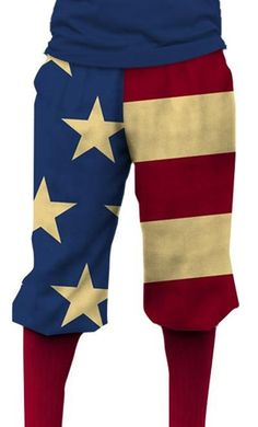 Loudmouth Golf Mens Golf Knickers - Old Glory.  Buy it @ ReadyGolf.com