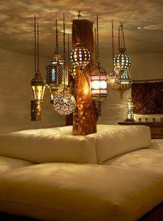 Moroccan #design #interior #lighting #lamps #room #home
