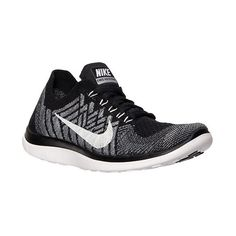 Women's Nike Free 4.0 Flyknit Running Shoes ($120) ❤ liked on Polyvore featuring shoes, athletic shoes, nike shoes, nike footwear, woven shoes, cocktail shoes and nike