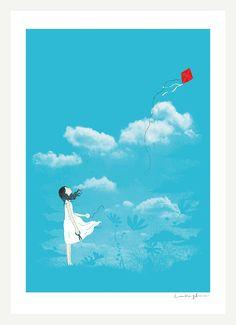 Let Go - A4 Print. $30.00, via Etsy. - Heng Swee Lim