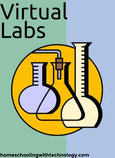 Learn where to find resources to do chemistry and biology labs online - virtual labs make it easy to study science at home. High School Chemistry, Chemistry Lessons, High School Biology, Teaching Chemistry, Chemistry Labs, Ap Biology, Science Biology, Middle School Science, Physical Science