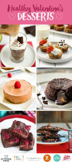 Healthy Valentine's Day Desserts that your sweetheart is sure to love! They're entirely grain-free, paleo and packed full of nutrition. But no one needs to know...