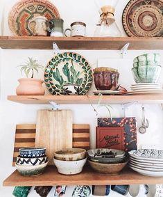 Bohemian style kitchen