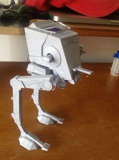 Picture of Star Wars pepakura AT-ST