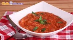 papa al pomodoro ricetta - serve this with melted cheese wrapped in thinly sliced grilled eggplant on top for extra yum - add peperoncino for a kick