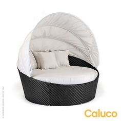 Caluco Dijon Round Daybed with Canopy #outdoor design available at AllModernOutlet.com