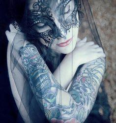 Masquerade (Halloween Gala) these masks we wear / karen cox.