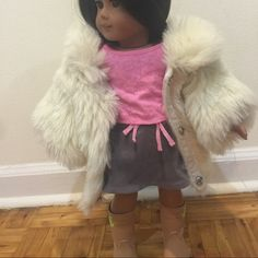 Juice couture coat for American girl doll Fur Juice couture coat for American girl doll Other