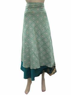 Wrap Skirt Silk Vintage Sari Sarong Dresses Blue Wraparound Skirts Mogul Interior,http://www.amazon.com/dp/B00H7244QU/ref=cm_sw_r_pi_dp_e7NRsb1VNVSFM0S1