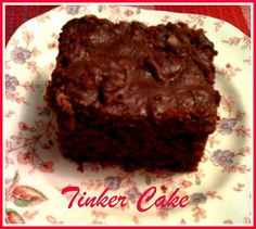 Sweet Tea and Cornbread: Aunt Millie's Tinker Cake!