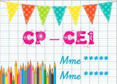 Affiche de porte Petite Section, Classroom Setup, Bullet Journal, Education, Math, Cycle 3, Renoir, Decorations, School