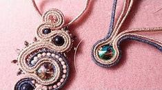 This is the sixth in another set of video's, this time showing how to create various design elements used in soutache. Tutorial Soutache, Macrame Tutorial, Diy Tutorial, Jewelry Crafts, Handmade Jewelry, Handmade Necklaces, Seed Bead Flowers, Soutache Earrings, Imitation Jewelry