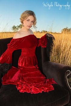 Velvet silk princess skirt by Marrika Nakk, Simply stunning! also available in many other colours including black. www.bellastar.com.au