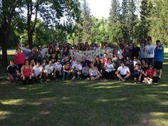 Fin de la jornada, mucho trabajo un gran aprendizaje. Gracias Rodados Integrales!!!