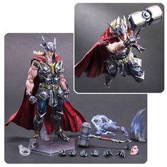 Marvel Universe Thor Variant Play Arts Kai Action Figure