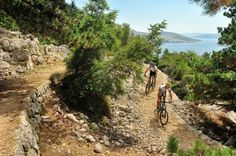 Baska in Krk island, Croatia - mountain biking challenge paradise #lobagolabnb #lobagolaadventure #mediterra #croatia #outdoor #adventure #balkan #nature #naturalpark #trekking #cycling #freeclimbing #seakayaking #canyoning #lovenature #visitcroatia #plitvicelakes #paklenica #kornatiislands #velebit #citybreak #microadventure