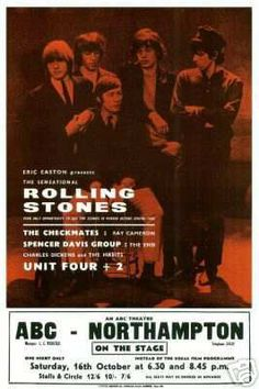 16.10.1965; rolling stones - spencer davis group; gbr, northampton, abc theater; (db)